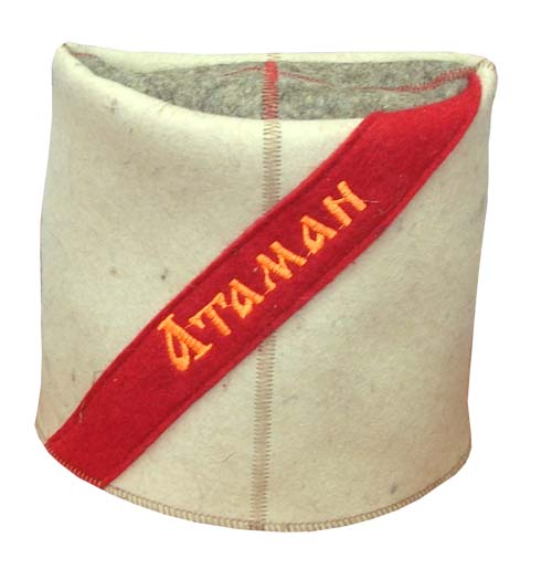 Атаман Папаха шапка банная Бабушкин Узор