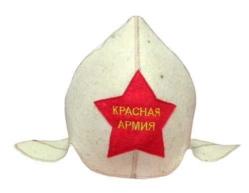 Буденовка Звезда Красная Армия Бабушкин Узор белый