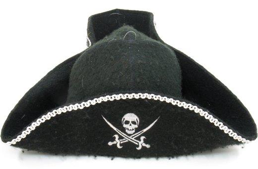 Шапка треуголка банная Джек Воробей Пират