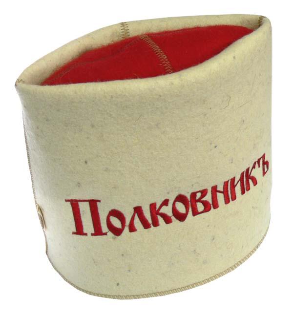 Папаха для бани Полковникъ Бабушкин Узор