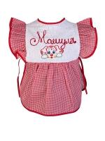 Платье детское 1-3 года, красное