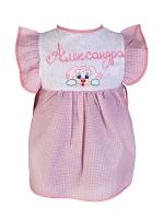 Платье детское 3-5 лет, розовое