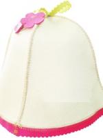 Шляпка банная Цветочек Бабушкин Узор