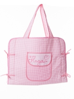 Коврик-сумка дорожный Бабушкин Узор, розовый