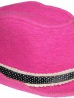 Шляпка с атласной лентой Бабушкин Узор