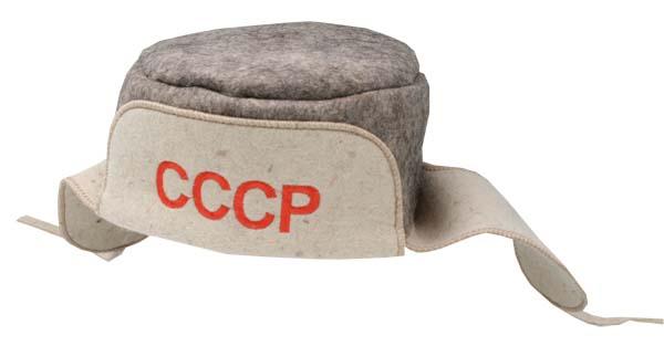 Ушанка банная СССР Бабушкин Узор